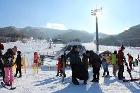 Горнолыжный сезон в Корее открыт