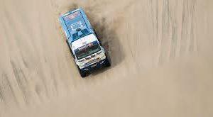 Экипаж Николаева стал 3-м на 7-м этапе «Дакара» и остался лидером в зачете грузовиков