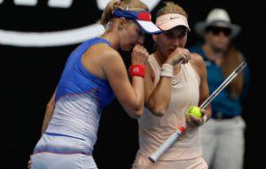 Веснина и Макарова проиграли Бабош/Младенович в финале Australian Open в парах