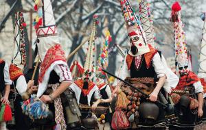 В Болгарии и Македонии отмечают Сурву