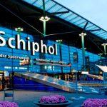 Аэропорт Амстердама отменил рейсы из-за снежной бури