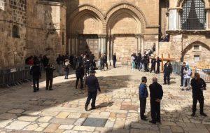 Храм Гроба Господня в Иерусалиме вновь принимает паломников