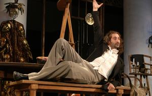 В афише «Мастерской Петра Фоменко» — постановка «Египетские ночи»
