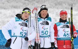 Седьмое золото Паралимпийских игр в карьере: победа Милениной в гонке на 12,5 км
