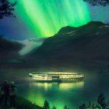 В Норвегии откроют отель в форме НЛО