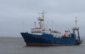 Научное судно «Дальние Зеленцы» исследует море Лаптевых