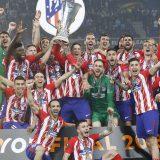 «Атлетико» разгромил «Марсель» и выиграл Лигу Европы