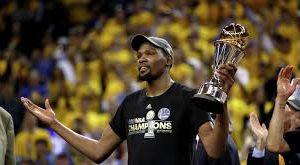 Форвард «Голден Стэйт» Дюрэнт признан MVP финальной серии НБА