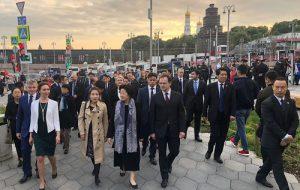 Делегация КНР посетила парк «Зарядье»
