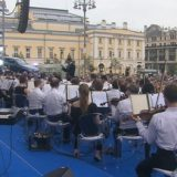 Солисты и оркестр Большого театра дали концерт на Театральной площади