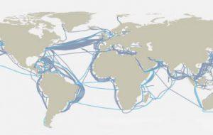 Подводные волоконно-оптические кабели могут также служить датчиками землетрясения