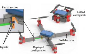 Техника оригами помогла создать самосборный складной квадрокоптер
