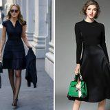 Маленькое черное платье – стильно и универсально
