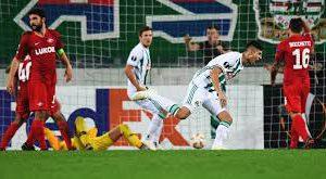 «Спартак» на своем поле проиграл «Рапиду» в матче Лиги Европы