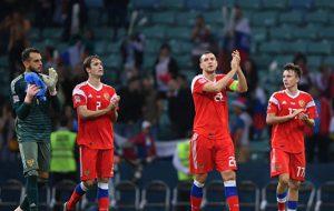 Сборная России завершила год на 48-м месте в рейтинге ФИФА