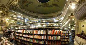 Необычный книжный магазин в Буэнос-Айресе