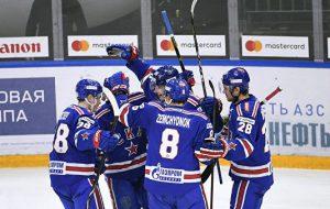 СКА вышел в плей-офф КХЛ после победы над «Локомотивом»