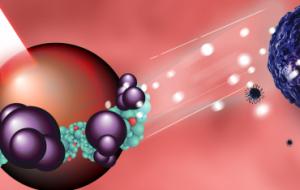 Ученые создали уникальный тандем органической молекулы и наночастицы для борьбы с раком