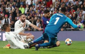 «Барселона» разгромила «Реал» и вышла в финал Кубка Испании