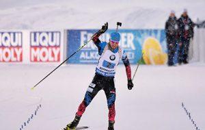 Логинов стал лучшим в рейтинге Союза биатлонистов России