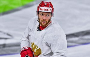 Гавриков вызван в сборную России по хоккею для участия в ЧМ