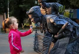 В Бельгии прошел крупнейший в Европе фестиваль живых скульптур