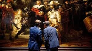 За реставрацией картины Рембрандта «Ночной дозор» можно будет наблюдать в живую