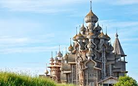 На острове Кижи реставрируют Церковь Преображения Господня