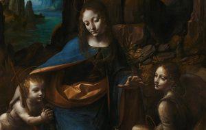 Под картиной Леонардо да Винчи «Мадонна в скалах» найдены скрытые эскизы и отпечатки рук