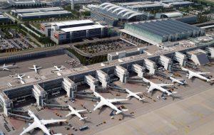 В аэропорту Мюнхена приостановлена работа двух терминалов
