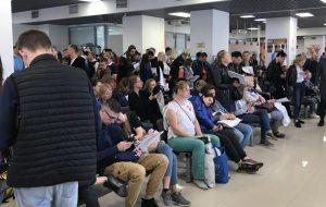 ВЦ Финляндии в Петербурге сообщил об огромных очередях за визами