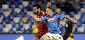«Ливерпуль» в стартовом матче группового раунда Лиги чемпионов уступил «Наполи» — 0:2.