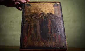 Картину флорентийского живописца Чимабуэ нашли во французском Компьене