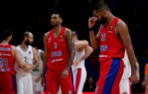 Баскетболисты ЦСКА потерпели первое в поражение сезоне