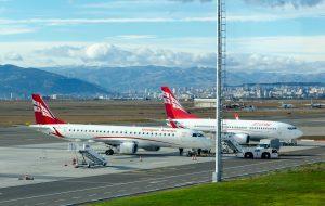 Georgian Airways планирует взыскать с Минтранса компенсацию из-за приостановки авиасообщения
