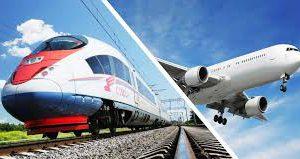Билеты на самолет в Крым на Новый год в два раза дороже, чем на поезд