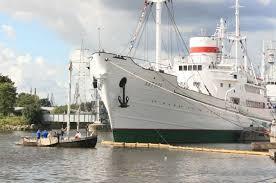 В Музей Мирового океана после реставрации вернулось судно «Витязь»