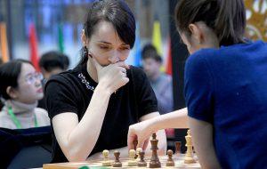 Российская шахматистка Лагно выиграла ЧМ по блицу