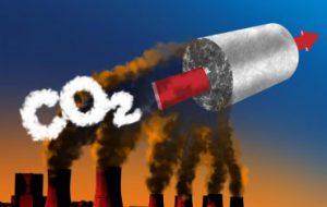 Новый материал поглощает углекислый газ из атмосферы