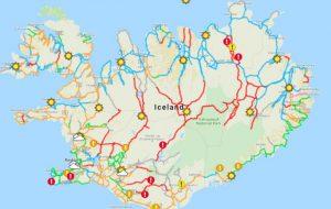 В Исландии появилась карта безопасных туристических маршрутов
