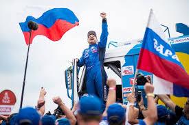 Экипаж российского гонщика Андрея Каргинова из команды «КамАЗ-Мастер» вышел в лидеры