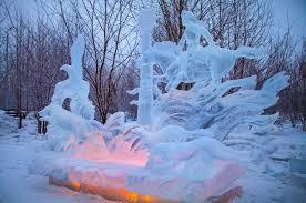 В Красноярске стартовал фестиваль-конкурс «Волшебный лед Сибири»