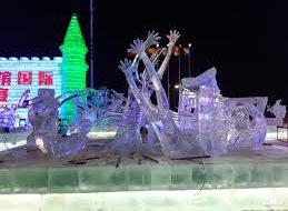 Команда из Благовещенска победила в международном конкурсе ледяных скульптур в Харбине