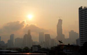 В Китае и Таиланде зафиксировано сильное загрязнение воздуха