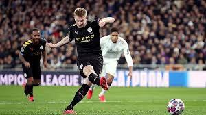 Английский «Манчестер Сити» добился победы в первом матче 1/8 финала Лиги чемпионов