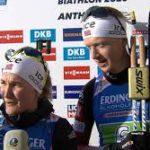 Норвегия выиграла сингл-микст на чемпионате мира по биатлону