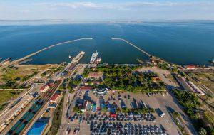 Расписание автобусов и расстояние от Новороссийска до порта Кавказ