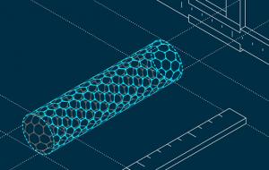 В МФТИ смогли приложить «линейку» к углеродным нанотрубкам в воде с двух сторон