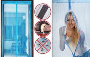 Сетка от комаров на дверь в интернет-магазине sevenMART