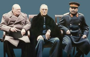 Росархив представил проект «Сталин-Черчилль-Рузвельт: совместная борьба с нацизмом»